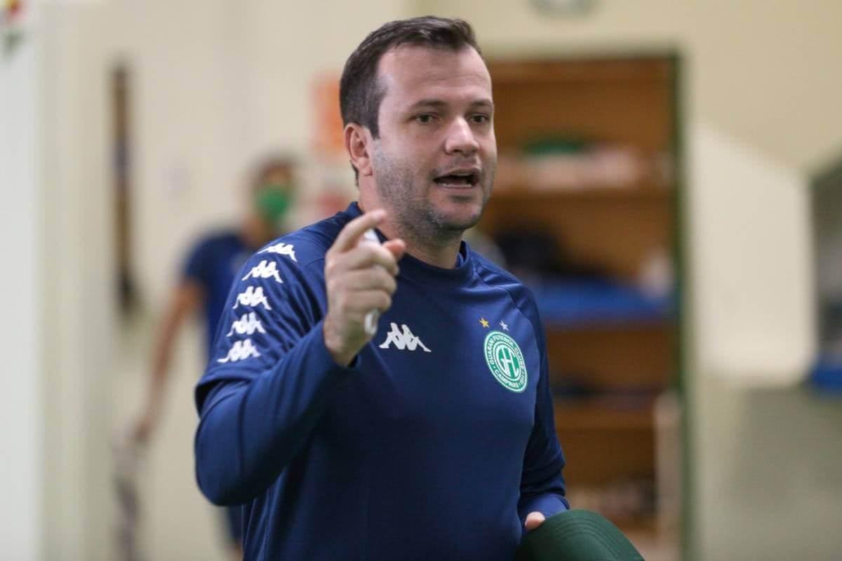 Daniel Paulista, técnico do Guarani