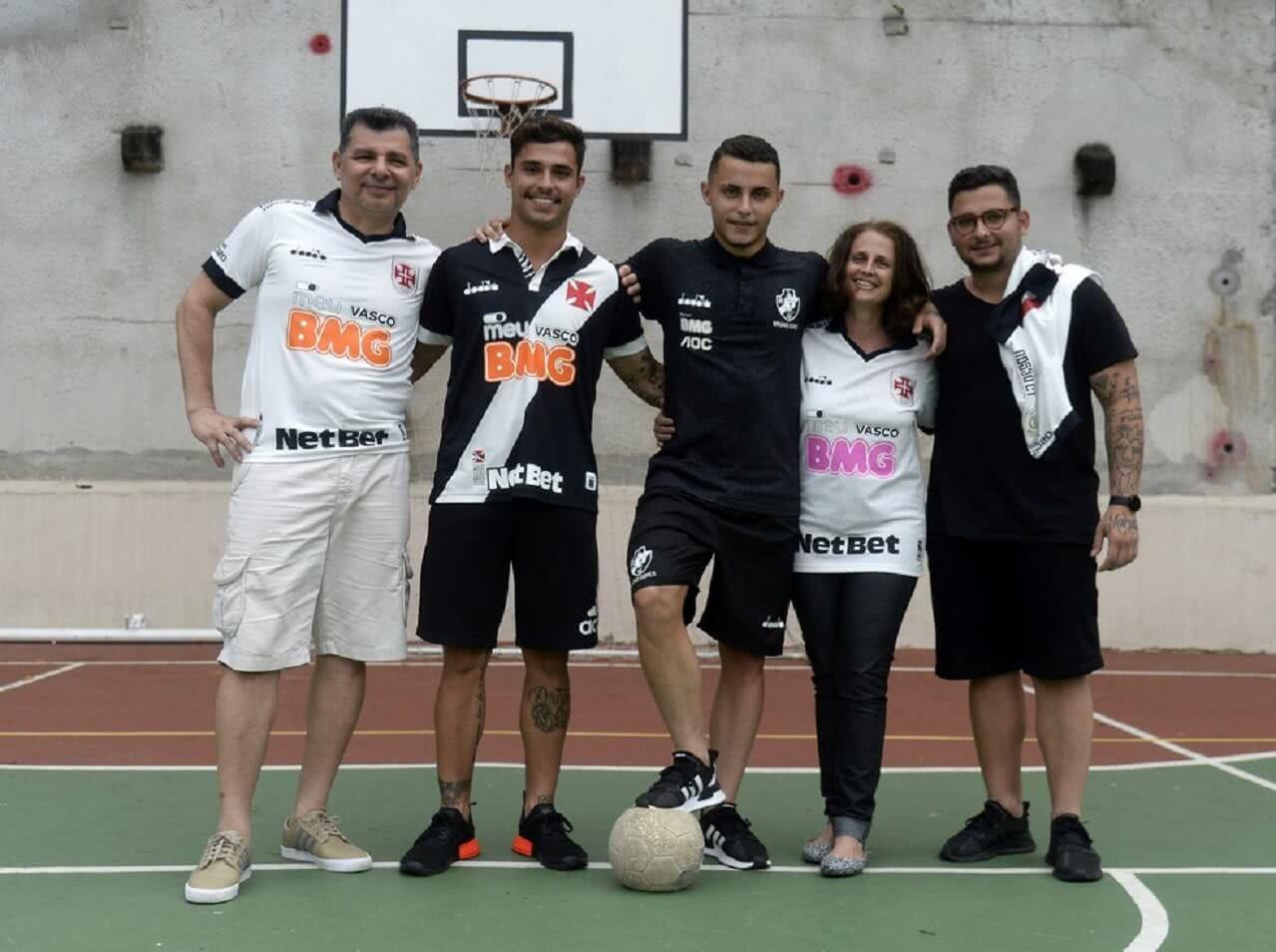 Bruno Gomes recebeu o apoio da família