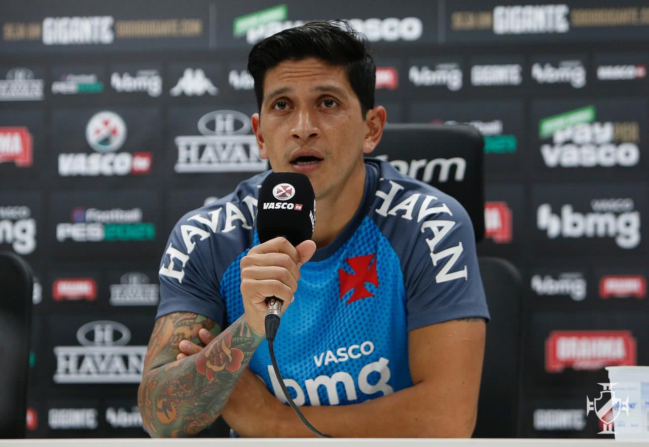 Germán Cano em entrevista à Vasco TV