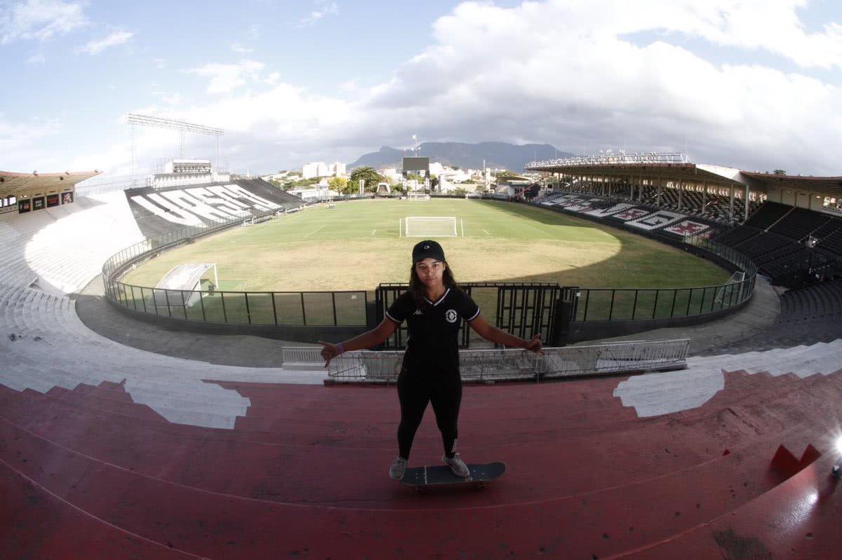 Giovana Moreira, skatista da Seleção Brasileira