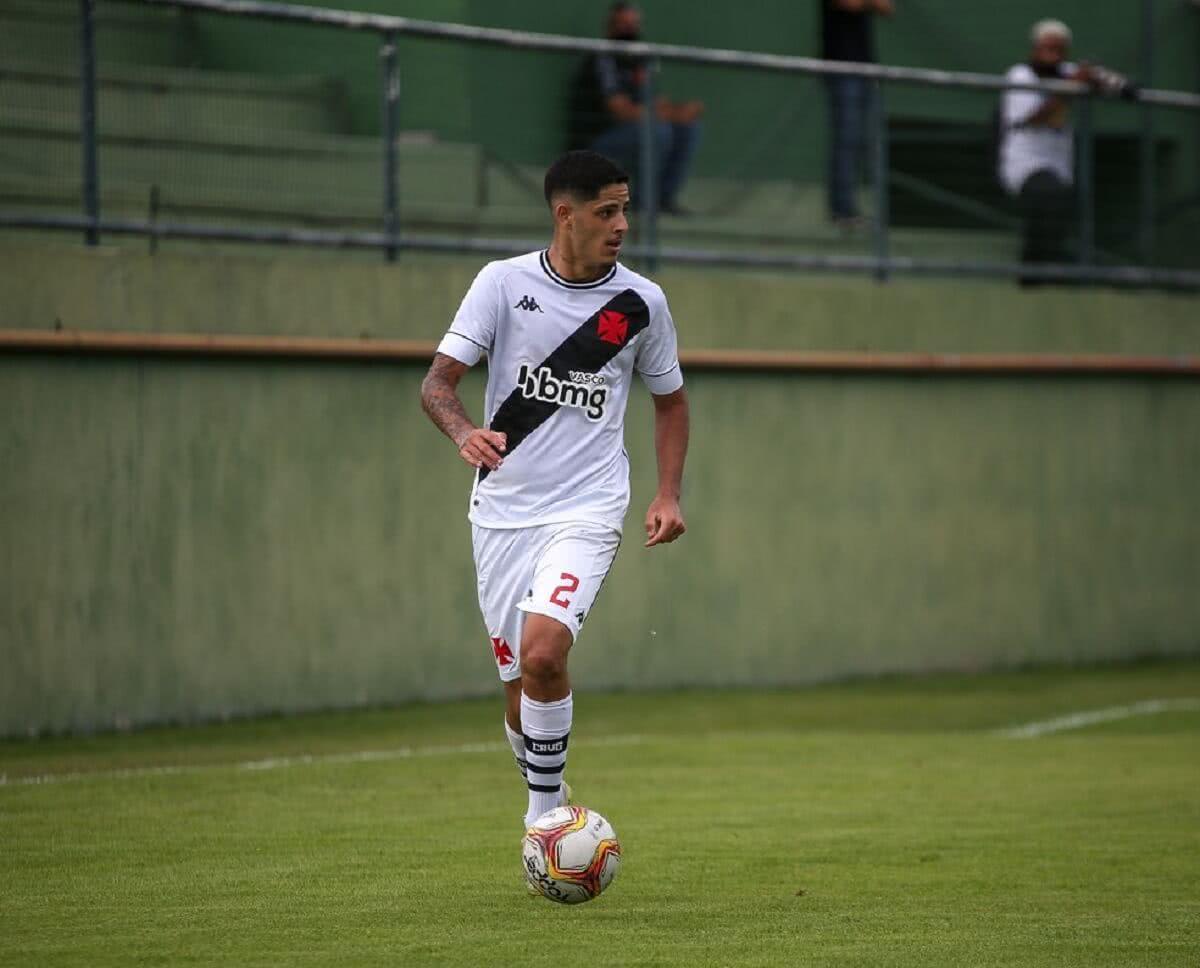 JP Galvão, lateral-direito do Sub-20 do Vasco