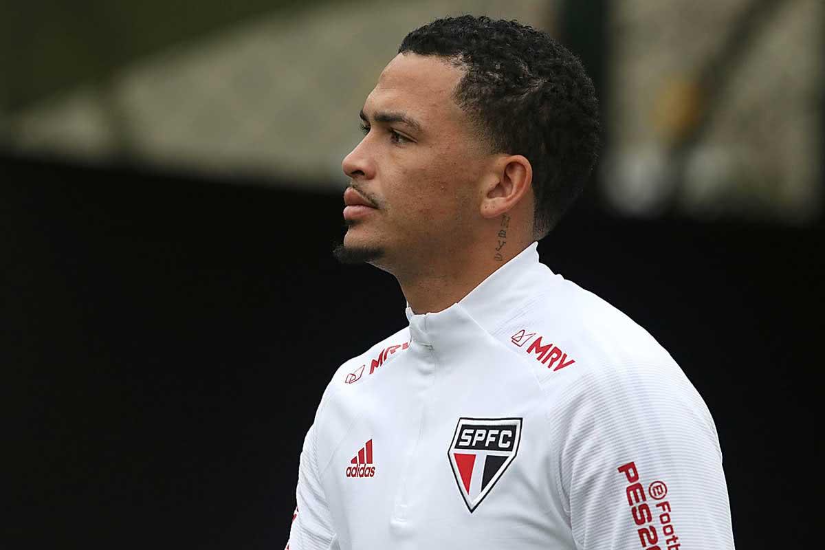 Luciano, atacante do São Paulo