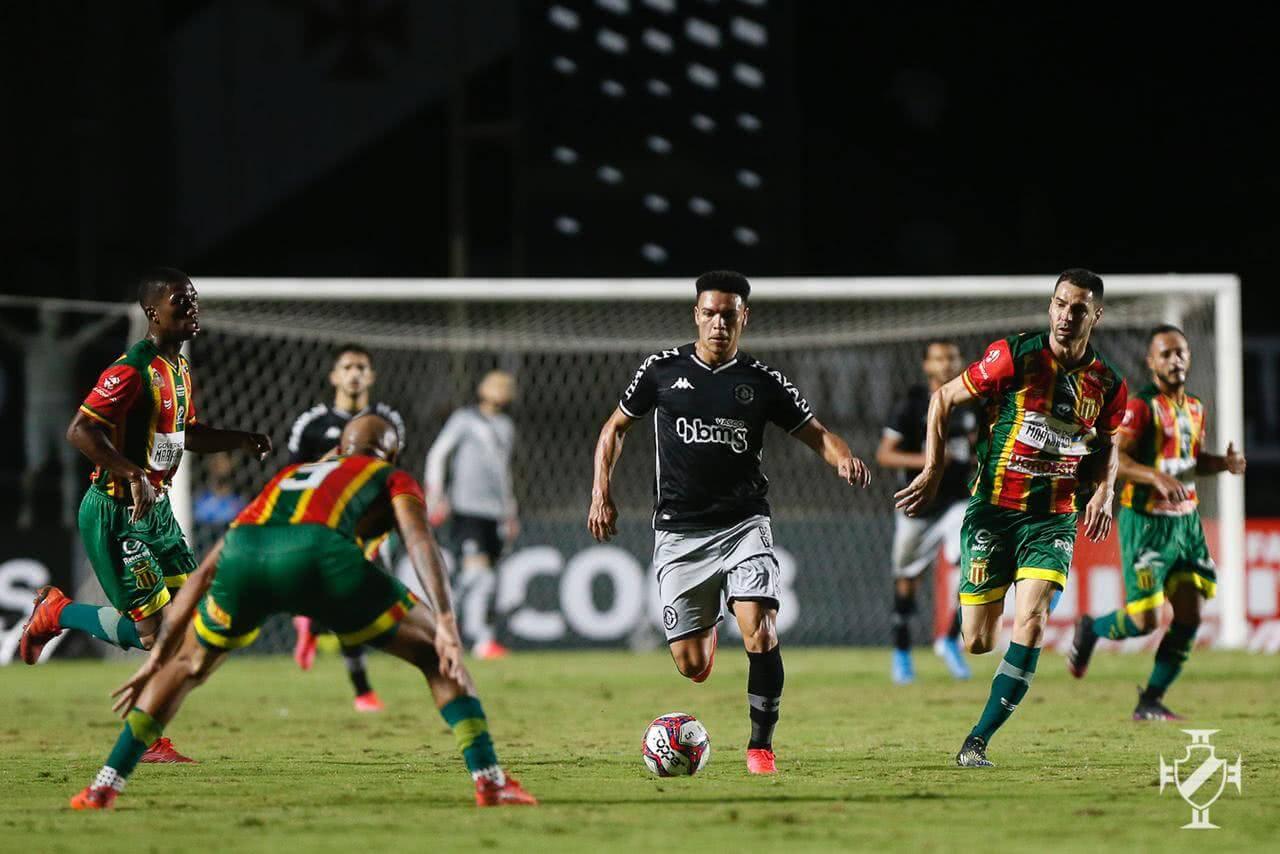Marquinhos Gabriel durante o jogo contra o Sampaio Corrêa