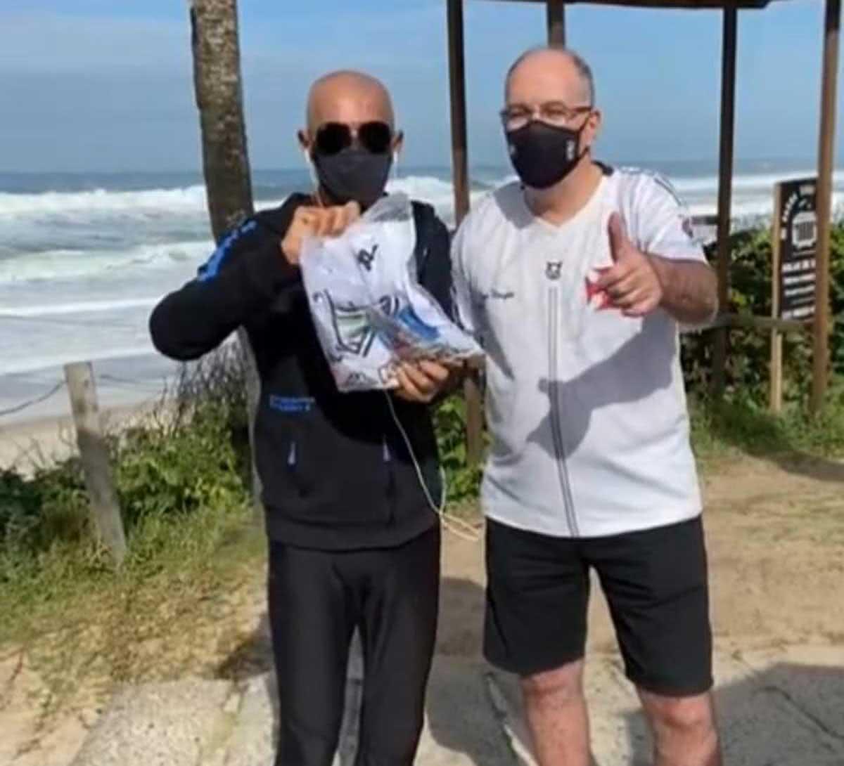 Otto Carvalho e Amin Khader,