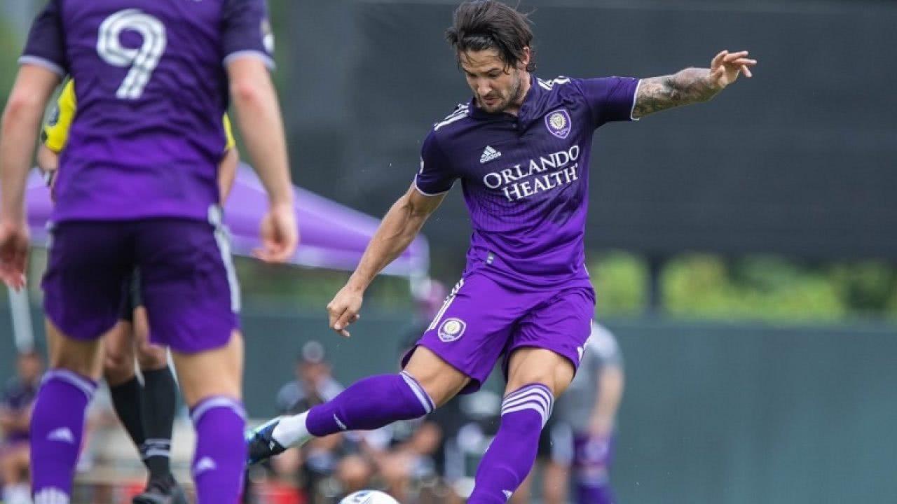 Alexandre Pato em ação pelo Orlando City