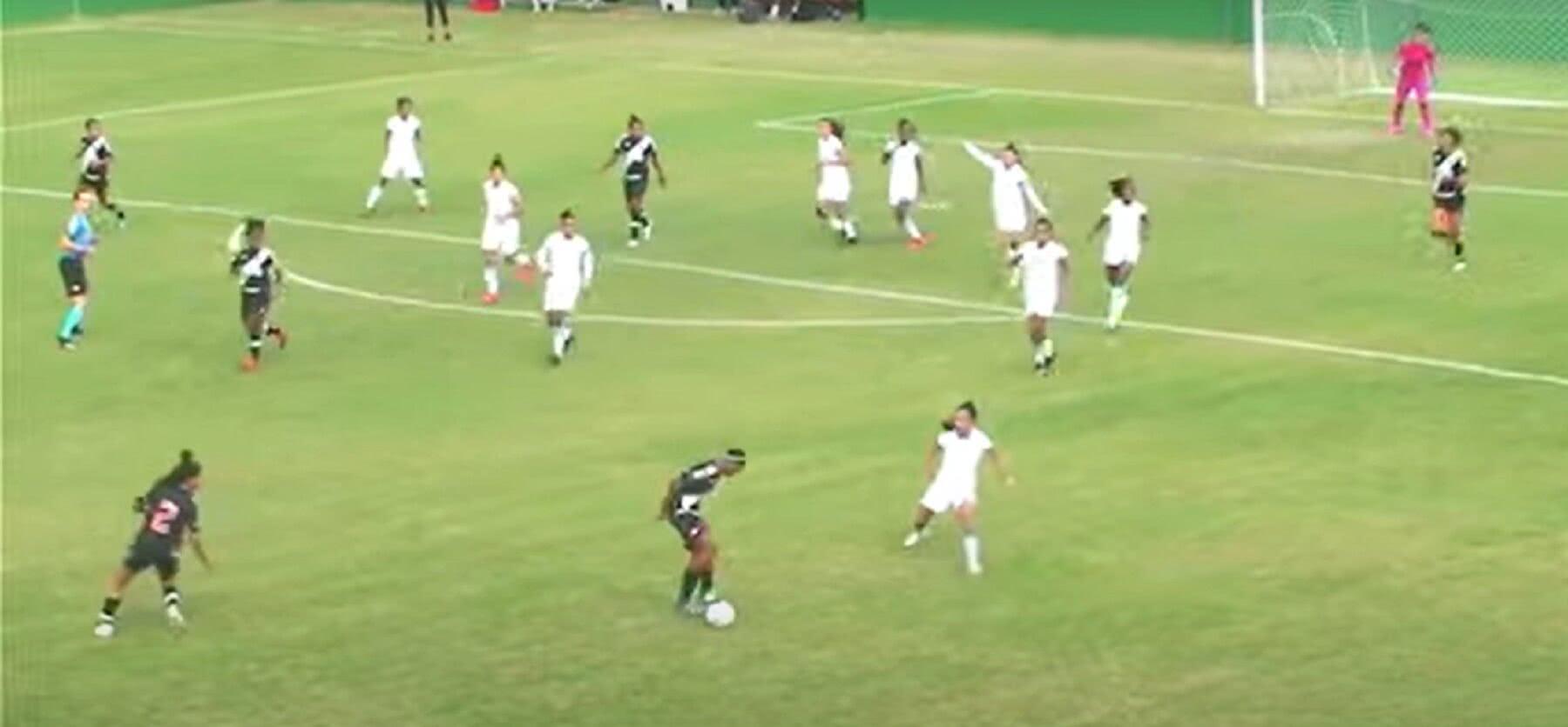 Vasco 2 x 1 América-MG pelo Brasileiro Feminino A2 2021