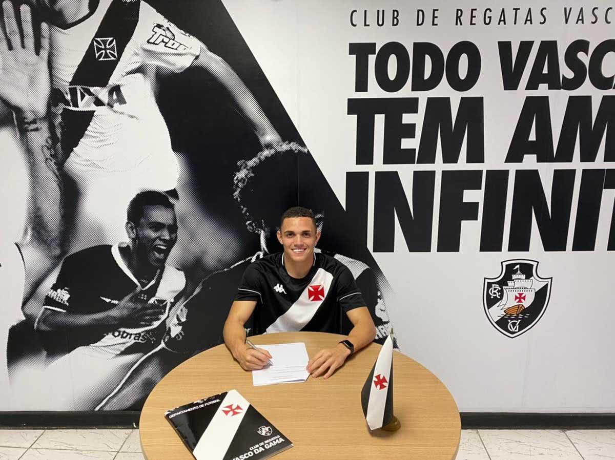 Marcelinho, reforço do Vasco Sub-20