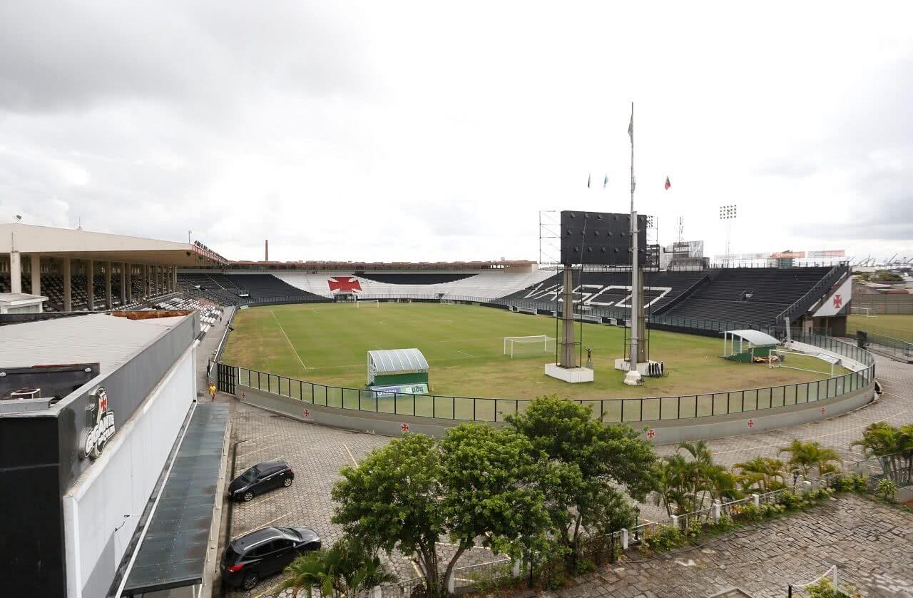 Estádio de São Januário, casa do Vasco da Gama