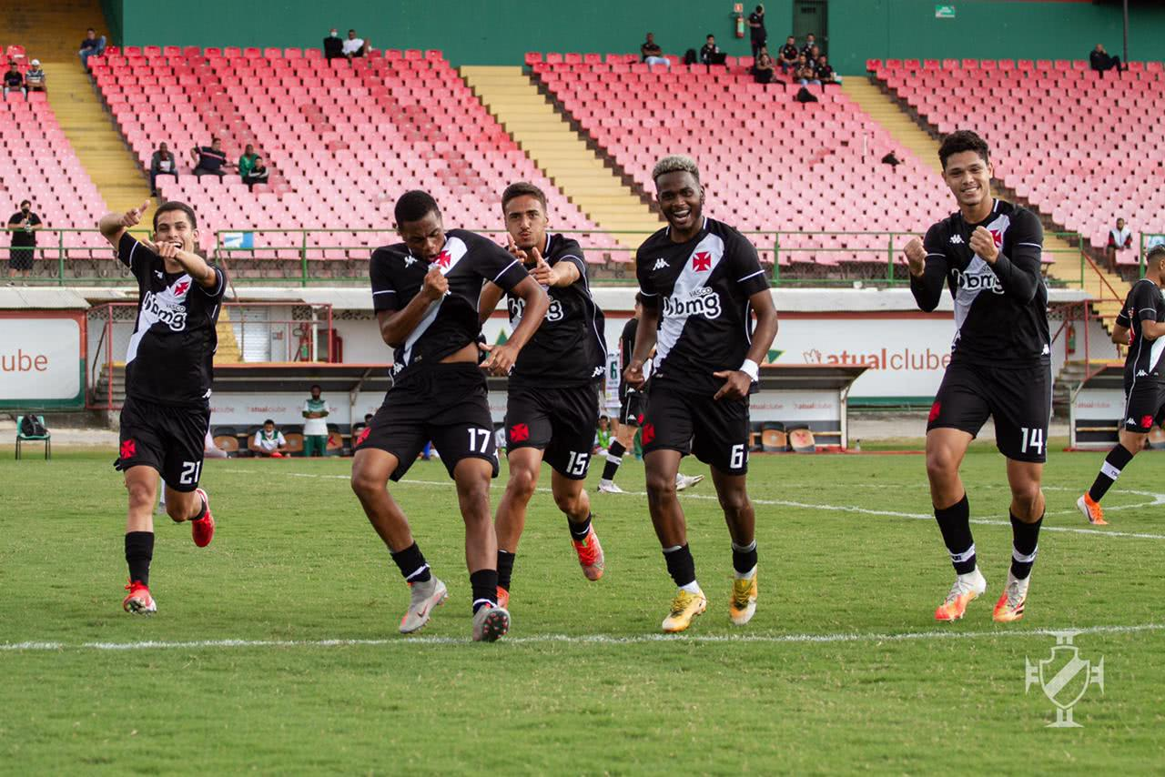 Vasco venceu a Portuguesa-RJ pela Taça Guanabara Sub-20