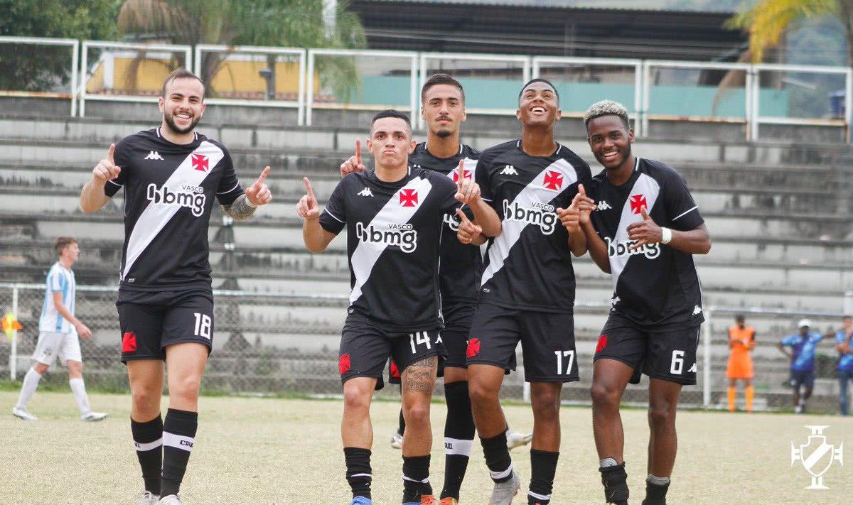 Vasco venceu o Macaé por 3x0 pelo Sub-20
