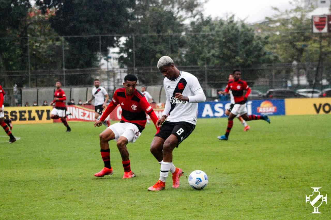 Vasco x Flamengo pelo Brasileiro Sub-20
