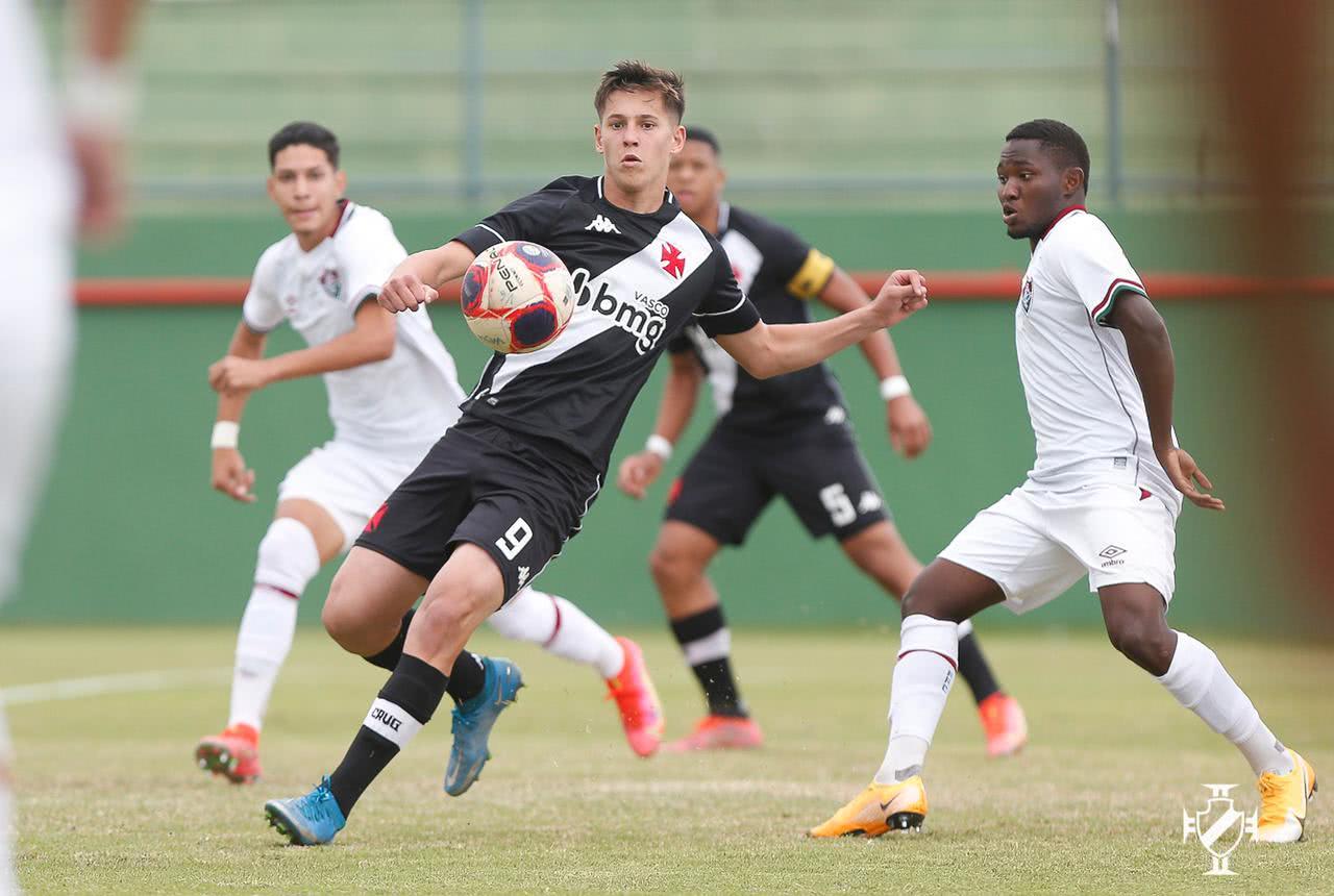 Vasco x Fluminense pela Copa Rio Sub-17