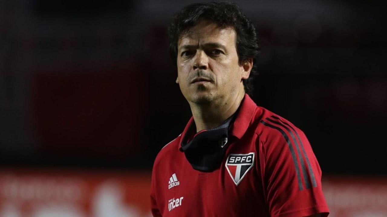 Fernando Diniz nos tempos de São Paulo