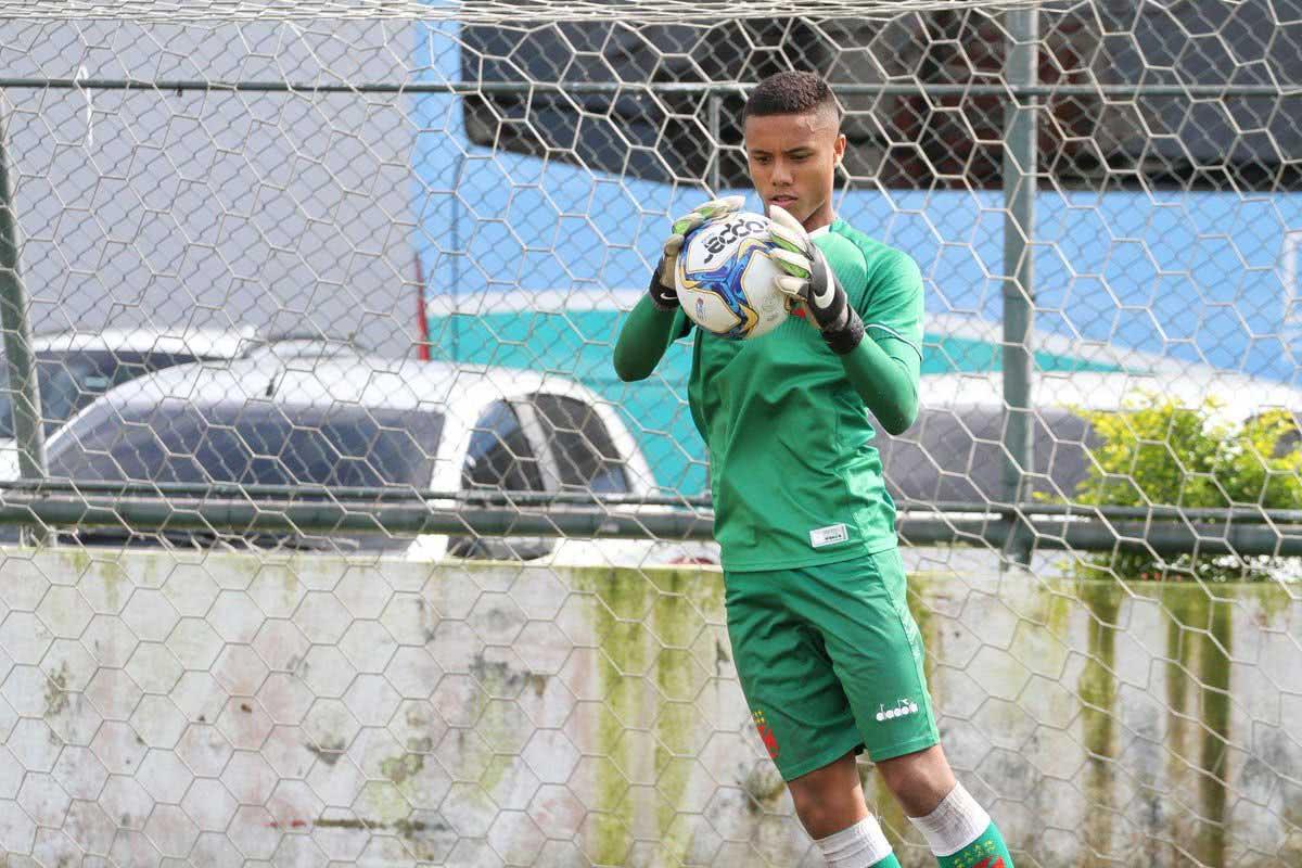 Allan Vitor, goleiro Sub-17 do Vasco