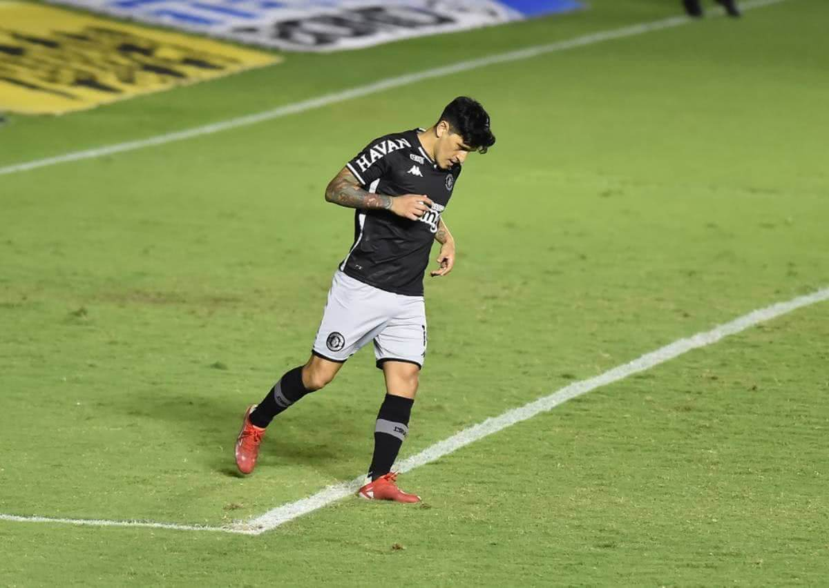Cano perde pênalti contra o Brasil de Pelotas