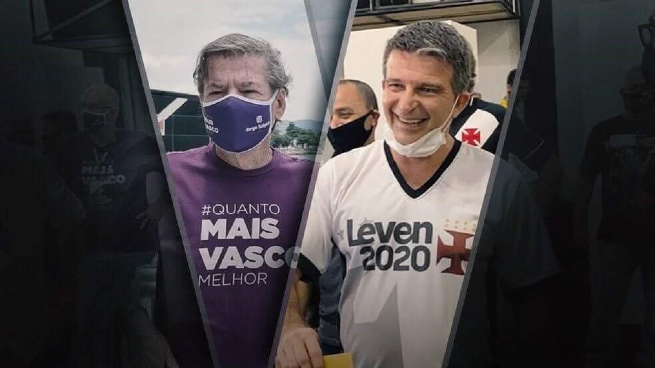Jorge Salgado e Leven Siano disputaram a presidência do Vasco