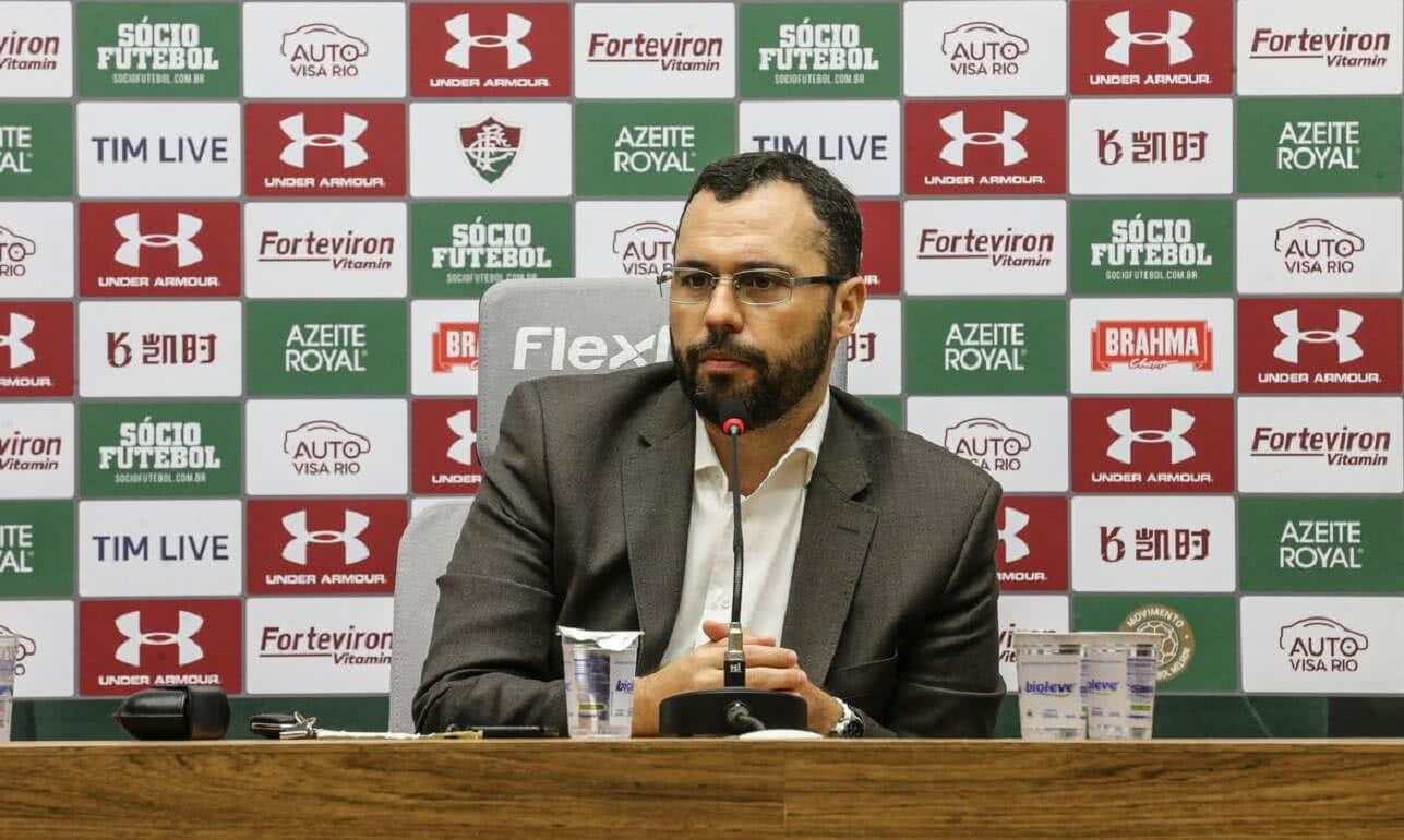 Mario Bittencourt é o presidente do Fluminense