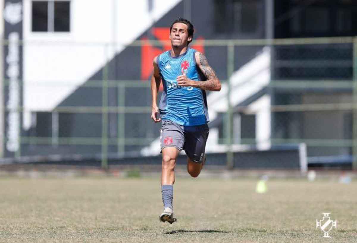Marlon Gomes, meio-campista do Vasco