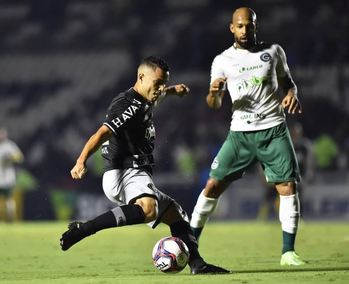Morato durante o jogo contra o Goiás