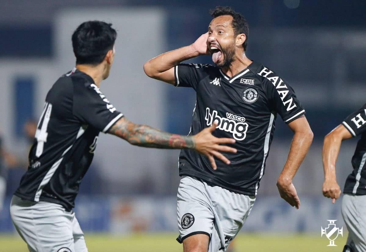 Nenê fez o gol da vitória do Vasco contra o Brusque