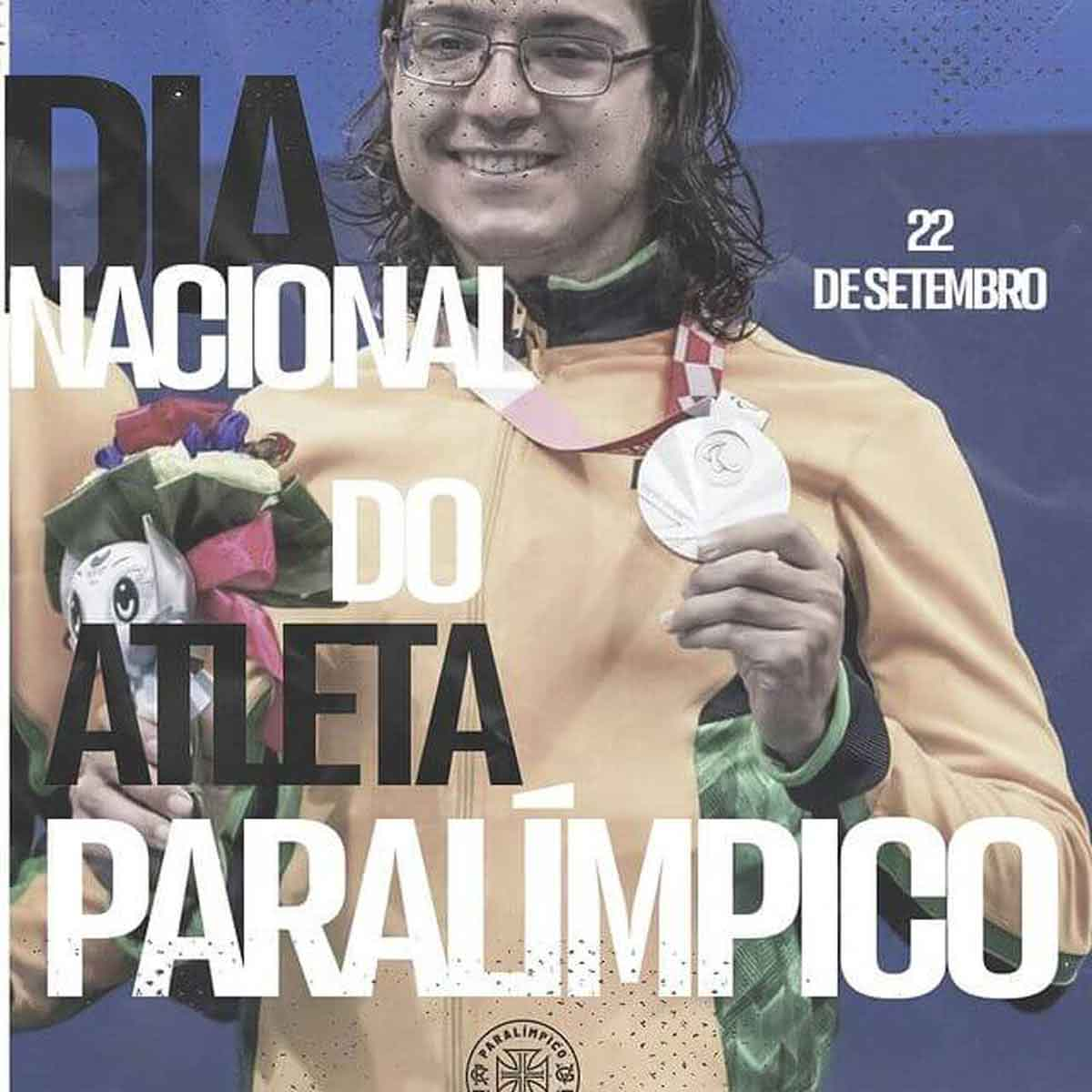 Vasco lembra o Dia Nacional do Atleta Paralímpico