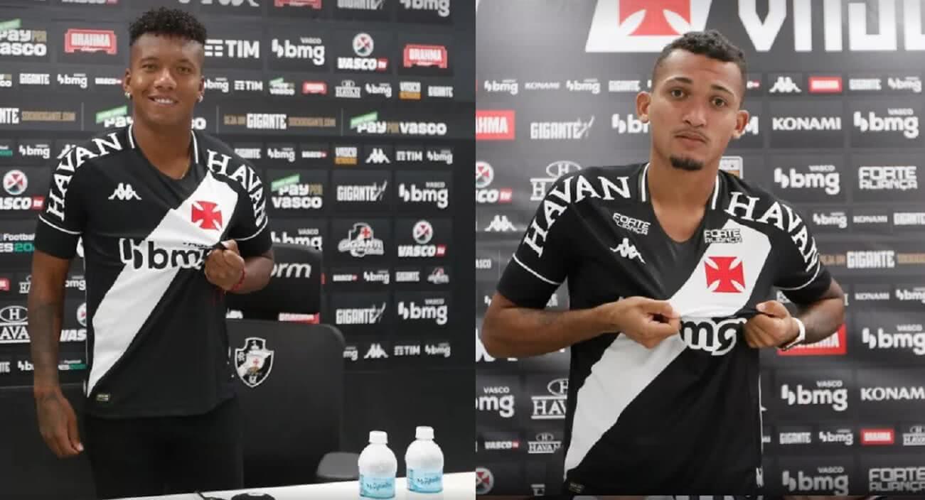 Sánchez e Walber reforçam o Vasco na Série B