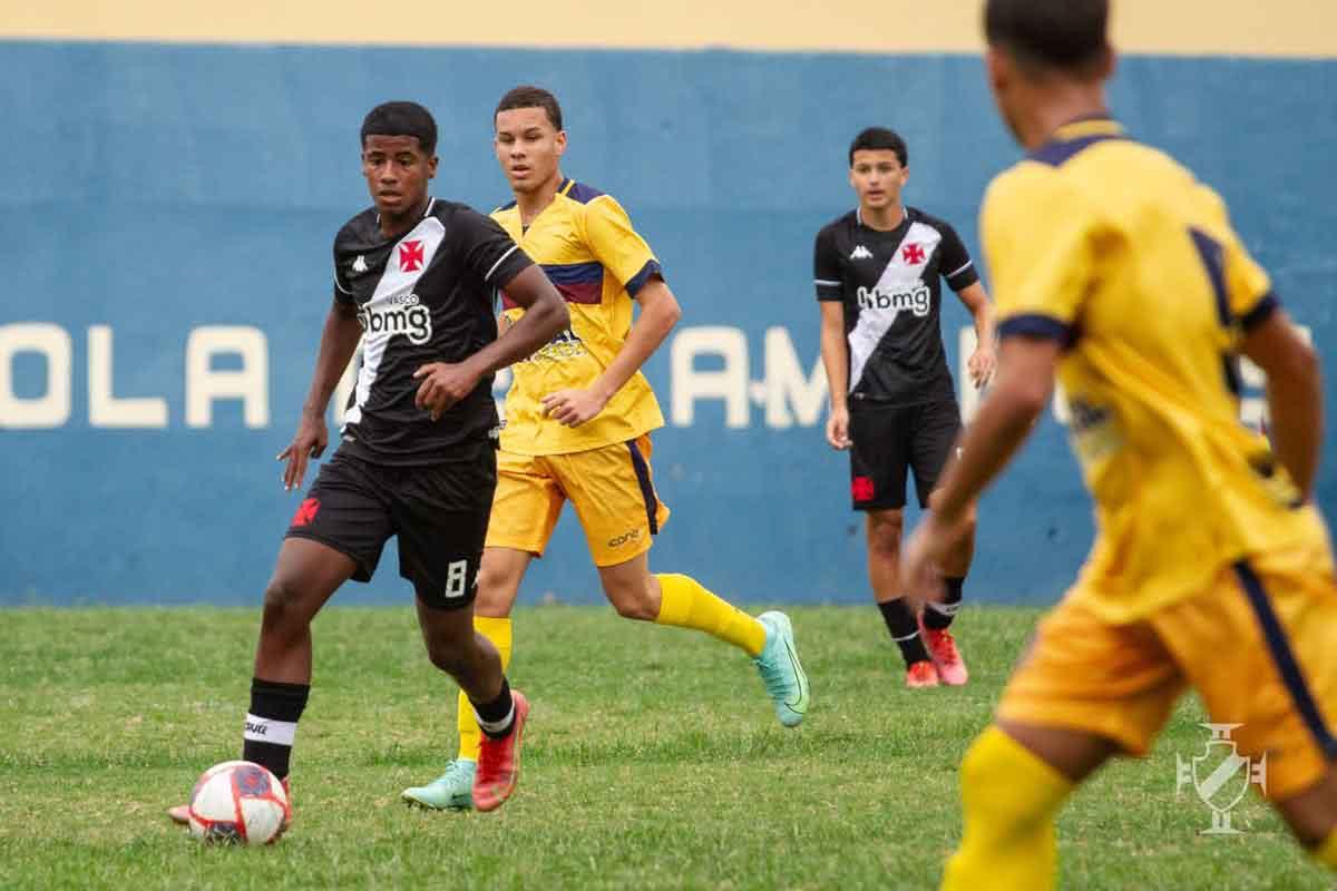 Vasco x Madureira pela Taça Guanabara Sub-15