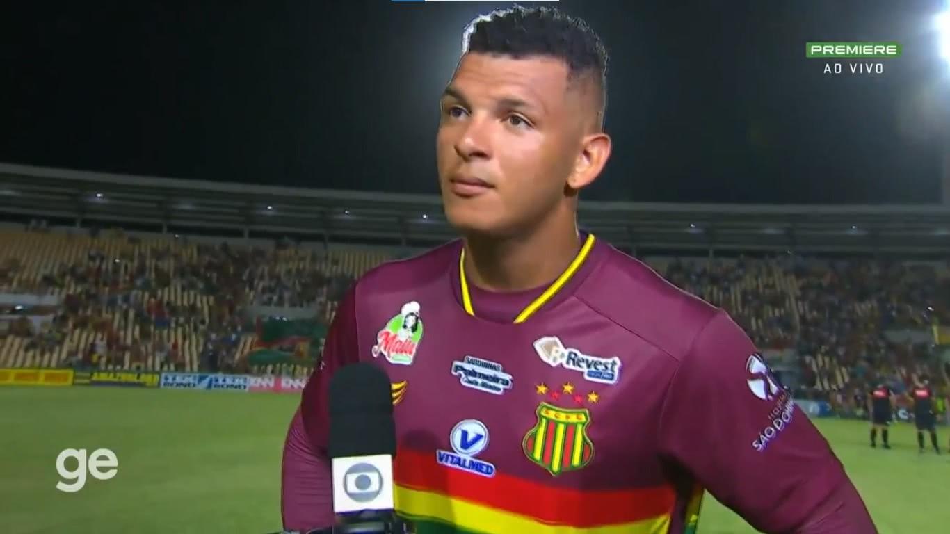 Luiz Daniel é goleiro do Sampaio Corrêa