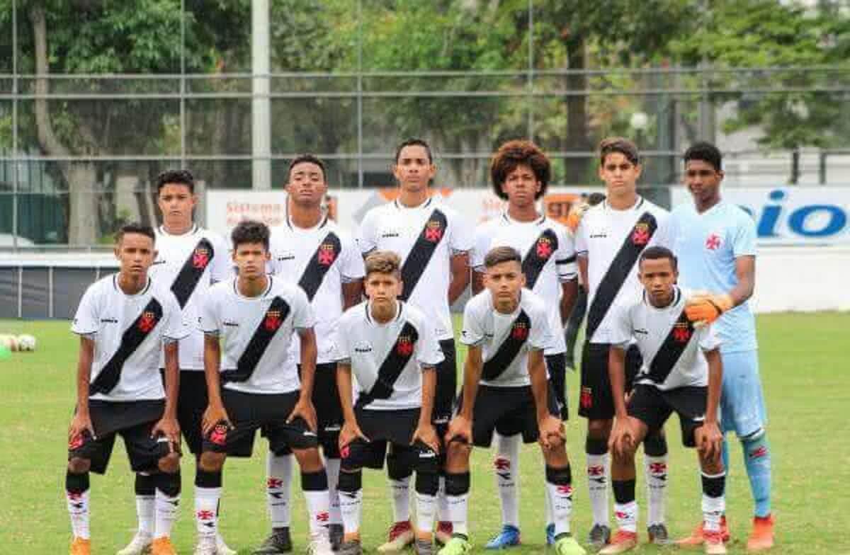 Equipe Sub-14 do Vasco